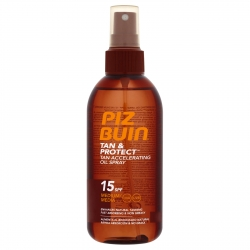 Piz Buin Tan and Protect Oil Spray SPF 15 150 ml