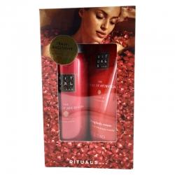 Rituals The Ritual of Ayurveda Travel set Shower gel 50 ml og Body Cream 70 ml