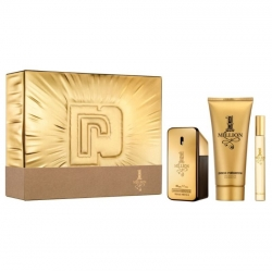 Paco Rabanne 1 Million set EDT 50 ml - Gel douche 100 ml - EDT mini 10 ml