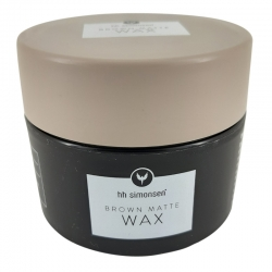 hh simonsen Brown Matte Wax 90 ml