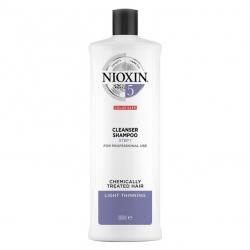 Nioxin 5 Cleanser Shampoo 1000ml