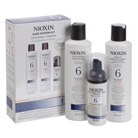 Nioxin 6 Hair System Kit