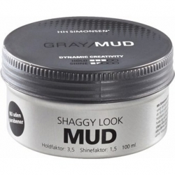HH Simonsen Gray Mud Wax Shaggy Look 100ml