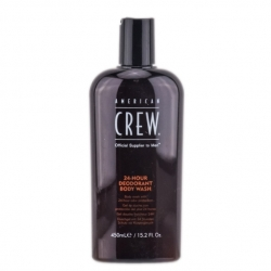 American Crew 24-hour Deodorant Body Wash Shampoo 450ml