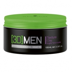 Schwarzkopf [3D] MENsion Texture Clay 100ml