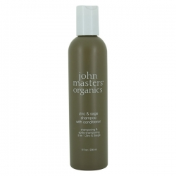 john masters organics Zinc & Sage Shampoo with Conditioner 236ml