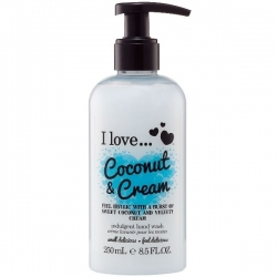 I Love ... Coconut & Cream Hand Wash 250ml