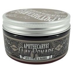 Apothecary87 Clay Pomade Lock, Stocke & Barrel 100ml