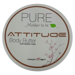 Trontveit Attitude Pure Mother to Be Body Butter 200ml