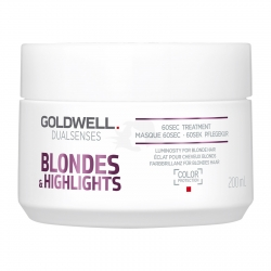 Goldwell Dualsenses Blondes & Highlights Anti-Yellow 60sec Treatment 200ml