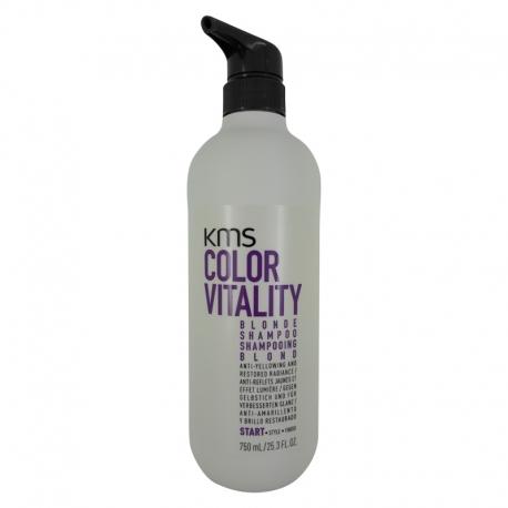 KMS Colorvitality Blonde Shampoo 750 ml ny