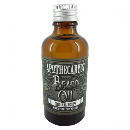 Apothecary87 Beard Oil Original Recipe 50ml