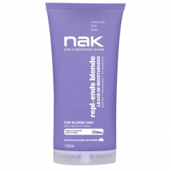 NAK Blonde Repl Ends Leave in Moisturiser 150ml