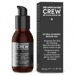 American Crew Shave Ultra Gliding Shave Oil 50ml ny