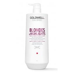 Goldwell Dualsenses Blondes & Highlights Anti-Yellow Shampoo 1000ml