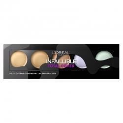 LORÈAL Concealer Infallible Total Cover Palette 10g