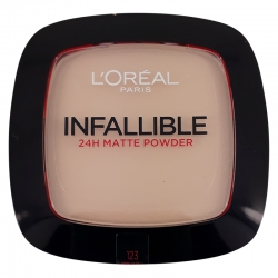 LORÈAL Foundation Infallible 24h Matte Powder 123 Warm Vanilla 9g