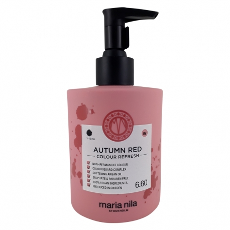 Maria Nila Colour Refresh 6.60 Autum Red 300ml