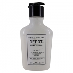 Depot No. 402 Pre & Post Shave Emollient Fluid 100ml