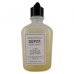 Depot No. 501 Mousturizing & Clarifying Beard Shampoo 250ml