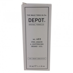 Depot No. 403 Pre-Shave & Softening Beard Oil 30ml