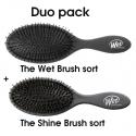hh simonsen The Wet Brush og The Shine Brush Black
