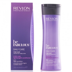 Revlon Be Fabulous Daily Care Fine Hair CREAM lightweight Conditioner 250ml