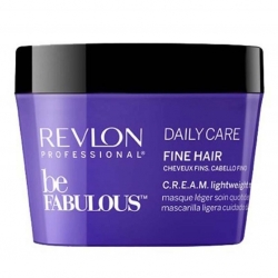 Revlon Be Fabulous Daily Care Fine Hair CREAM lightweight Mask 200ml