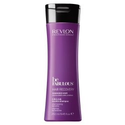 Revlon Be Fabulous Hair Recovery Damaged Hair Cream Keratin Shampoo 250ml