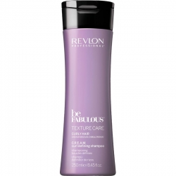 Revlon Be Fabulous Texture Care Curly Hair Cream Curl Defining Shampoo 250ml