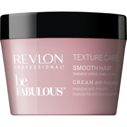 Revlon Be Fabulous Texture Care Smooth Hair Cream Anti-frizz Mask 200ml