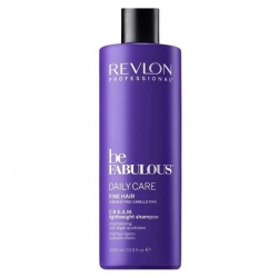 Revlon Be Fabulous Daily Care Fine Hair CREAM lightweight Shampoo 1000ml