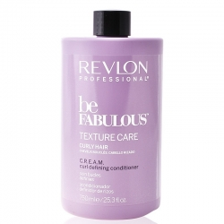 Revlon Be Fabulous Texture Care Curly Hair Cream Curl Defining Conditioner 750ml