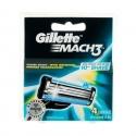 Gillette Mach 3 Barberblade (4 stk.)