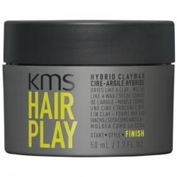 KMS Hairplay Hybrid Clay Wax 50ml