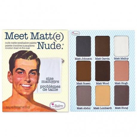 The Balm Meet Matt(e) Nude palette 21,6g