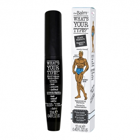 The Balm What's Your Type Mascara Black 12ml