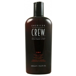 American Crew 3-in-1 Shampoo Conditioner Body Wash 450ml