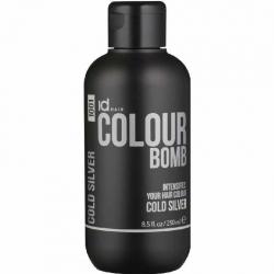 Id Hair Colour Bomb 1001 Cold Silver 250ml