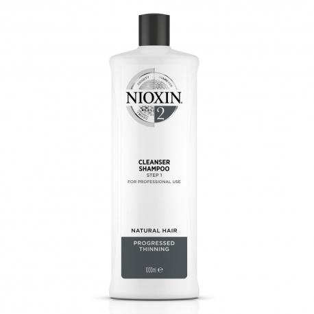 Nioxin 2 Cleanser Shampoo 1000ml