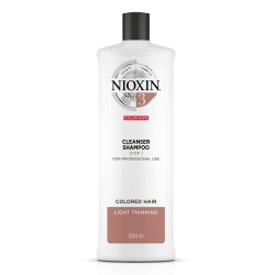 Nioxin 3 Cleanser Shampoo 1000ml