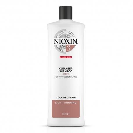 Nioxin 3 Cleanser Shampoo 1000ml