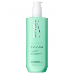 Biotherm Biosource Purifying Makeup Remover Milk 400ml