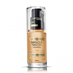 Max Factor Miracle Match Foundation 60 Sand 30ml