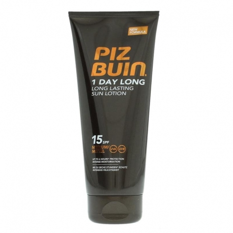 Piz Buin 1 Day Long Lasting Sun Lotion SPF 15 100ml