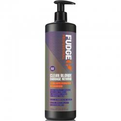 Fudge Clean Blonde Damage Rewind Violet-Toning Shampoo 1000ml