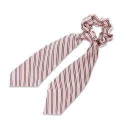 everneed Anna – knot scrunchie nude rose strips