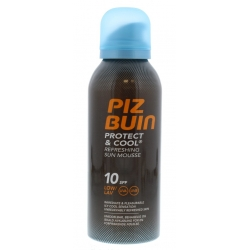 Piz Buin Protect and Cool Sun Mousse SPF 10 150ml