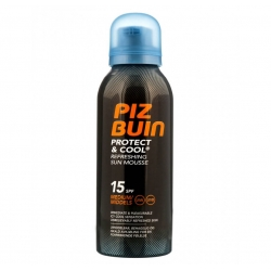 Piz Buin Protect and Cool Sun Mousse SPF 15 150ml
