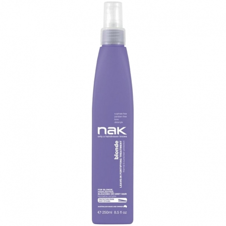 NAK Blonde Leave-in Fortifying Treatment 250ml